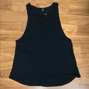 NWT Forever 21 Black Racerback Tank with Pocket